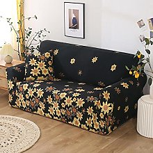 Sofa Slipcovers 4 seater Warm up flower polyester