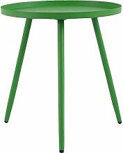 Sofa Small Table Round Table, Indoor and Outdoor