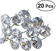 Sofa Tacks - Rosenice Crystal Upholstery Tacks for