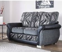 Sofia 2 Seater Fabric Sofa Settee Upholstered In