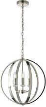 Sofia 3-Light Globe Chandelier Canora Grey