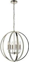 Sofia 6-Light Globe Chandelier Canora Grey