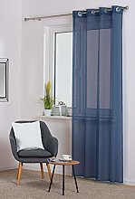 SOFIA Curtain Navy Blue