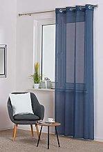 SOFIA Curtain Navy Blue