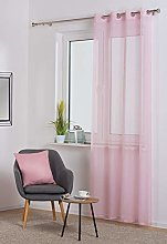 SOFIA Curtain Powder Pink
