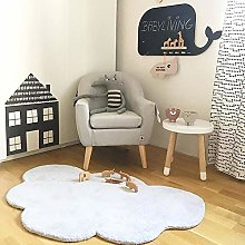 Soft Area Rug For Bedroom, Cloud Shape Baby