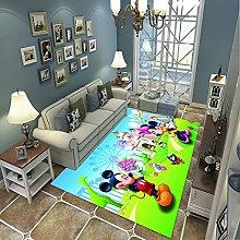 Soft Area Rug, Modern Style Decor Carpet, Child