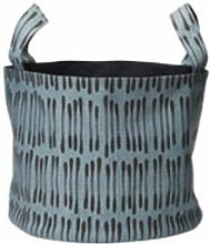 Soft Basket Medium - Drop - Blue/Black