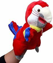 Soft Children's Cartoon Parrot Cartoon Bird