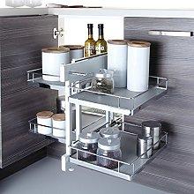 Soft Close Blind Corner Optimiser Kitchen Cabinet