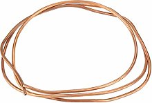 Soft Copper Tube-2m T2 Soft Copper Coil Tube Pipe