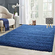 Soft Cosy Shaggy Rug Non Shed Thick Fluffy For