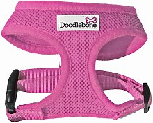 Soft Dog Harness (X Large) (Pink) - Doodlebone