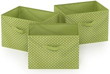 Soft Fabric Bin Rebrilliant Colour: Green