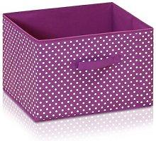 Soft Fabric Bin Rebrilliant Colour: Purple