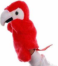 Soft lovely Cute Cartoon Parrot Cute Bird Animal