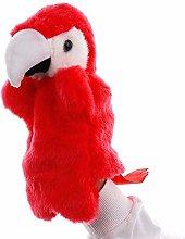 Soft None Cartoon Parrot Hand Puppet Cute Bird