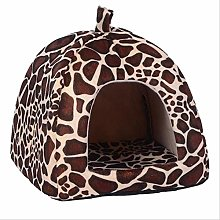 Soft Pet Dog Cat House Kennel Foldable Doggy