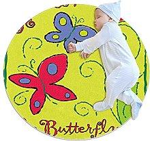 Soft Round Area Rug Anti-Slip Floor Circle Mats
