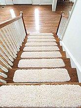 Soft Shaggy Carpet Stair Treads NON-SLIP MACHINE