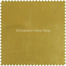 Soft Sheen Vinyl Gold Faux Leather Upholstery