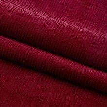 Soft Striped Corduroy Fabric Stretch Velvet Fabric