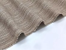 Soft Textured Chenille Upholstery Fabric by The