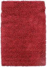Soft Touch Shaggy Rug, 160 cm x 230 cm, Red