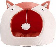 Soft Warm 2 in 1 Pet Nest Non-Slip Dog Cat Bed