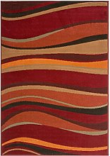 Soft Warm Red Brown Green and Burnt Orange Simple