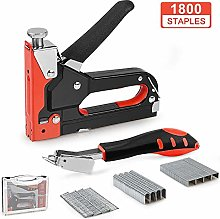 softeen Staple Gun Kit with Remover, 3 in 1 Hand