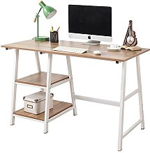 SogesHome 120 x 60 cm Computer Desk with Shelf