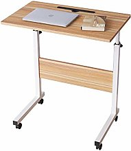 SogesHome 60 x 40 cm Mobile Lap Table With Card