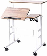 Sogeshome Adjustable Height Computer Table Laptop