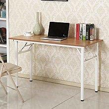 SogesHome Computer Desk Folding Desk 120 * 60 cm