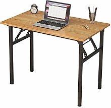 SogesHome Computer Desk No Assembly Folding Desk