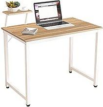 SogesHome Computer Desk with Shelves, Writing
