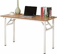 SogesHome Folding Table Computer Desk 120 x 60 x