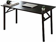 SogesHome Folding Table Computer Desk 120 x 60x 75