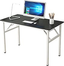 SogesHome Folding Table PC Desk Office Desk