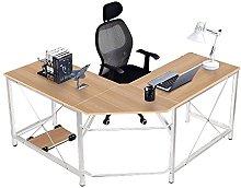 SogesHome L-Shaped Computer Desk,Corner Desk,