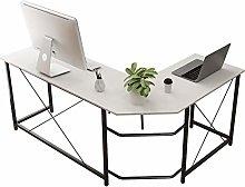 SogesHome L-shaped Desk,Large Corner Desk, Compact