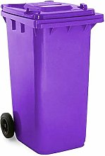 Soho Commercial Wheelie Bin - 240 Litre (Purple)