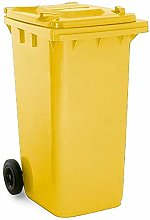 Soho Commercial Wheelie Bin - 240 Litre (Yellow)