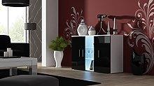 SOHO S-7 Sideboard Display Cupboards High Gloss