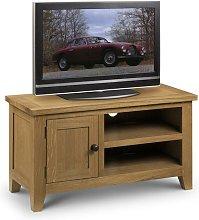 Soild Waxed Oak Occasional TV Stand Media Unit -