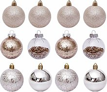 SOIMISS 30Pcs Christmas Tree Hanging Balls