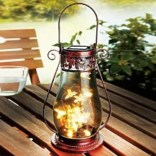 Solar Butterfly Lantern By Coopers Of Stortford