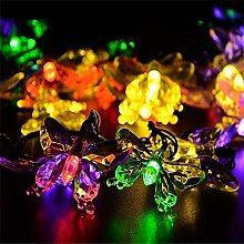Solar Butterfly Lights, EONANT 4.8M 20LED