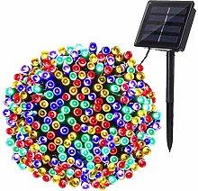 Solar Christmas String Lights, BrizLabs 22M 200